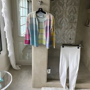 Sweaters - Great twin set. Sleeveless tank with sweater
